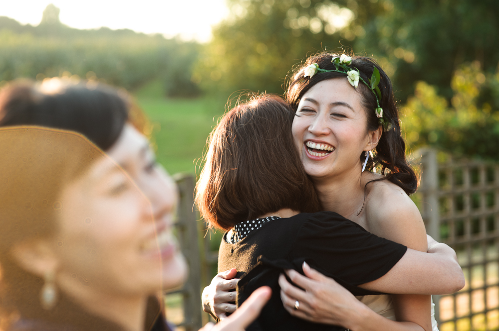 Beautiful bride reportage wedding photography