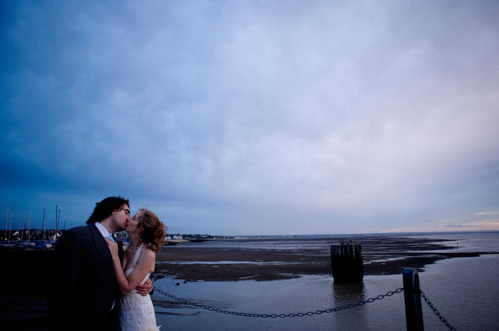 Beach wedding in kent