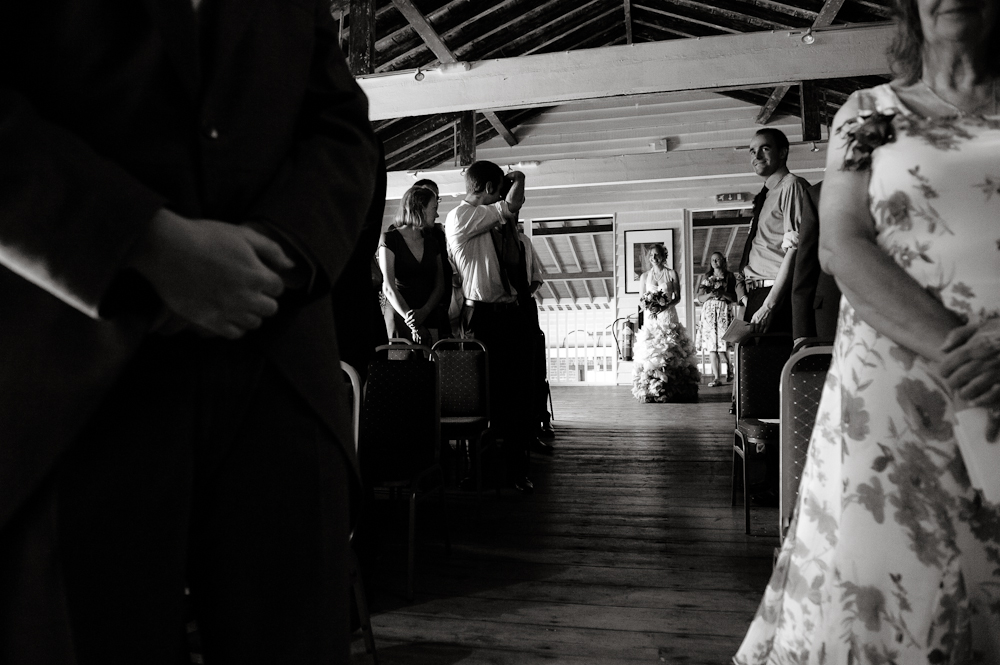 Wedding photography at the The Lobster Shack
