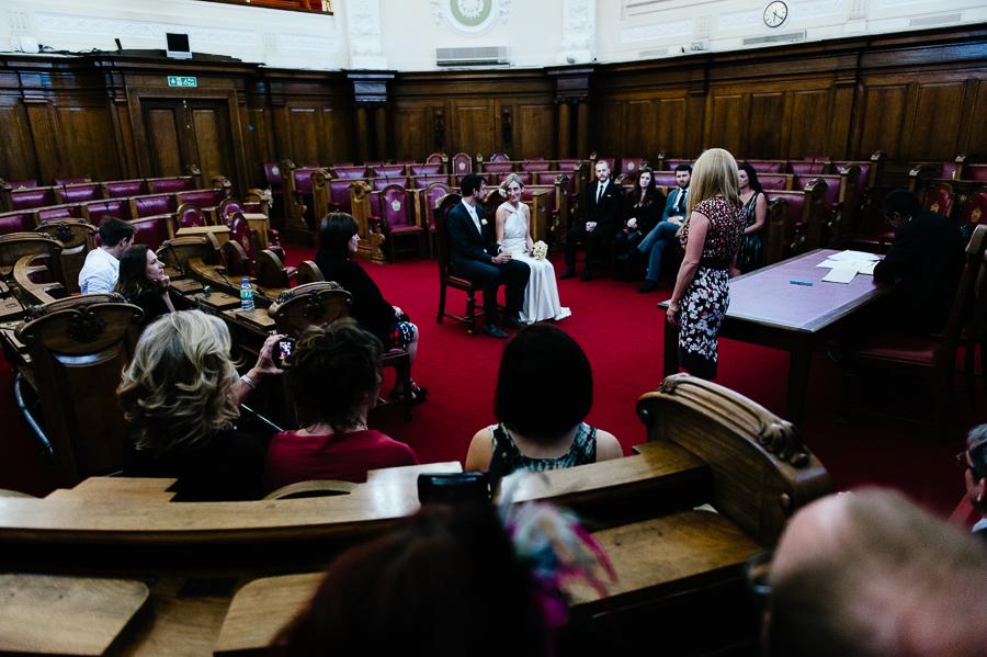 Wedding Photography at Islington town hall 019
