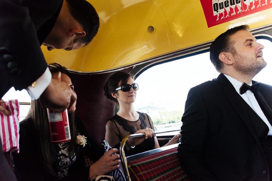 Routemaster Wedding photography