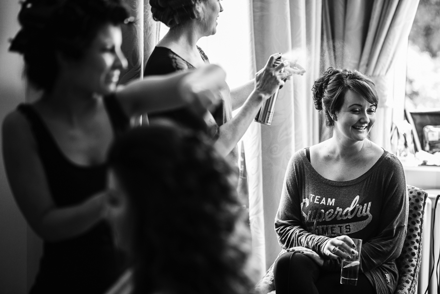 Hair and make up for wedding in Tunbridge Wells