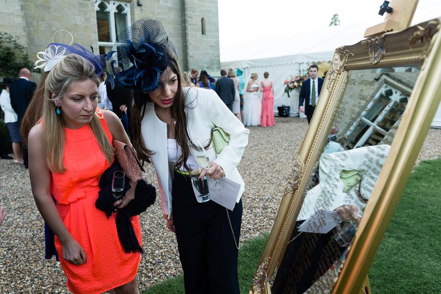 Wedding at Chiddingstone Castle, Kent