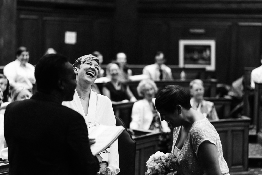 Wedding at Camden Town Hall, London
