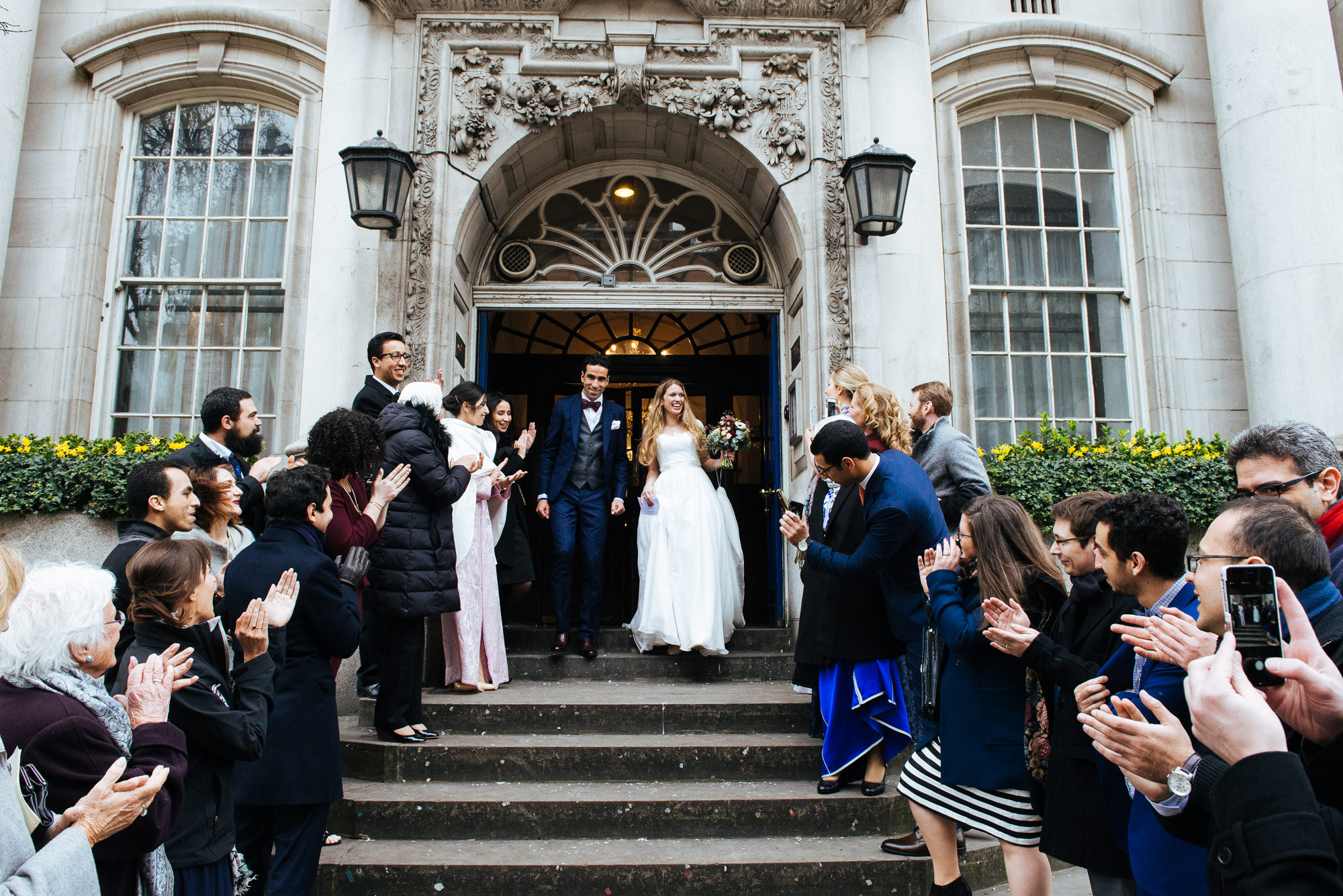 Wedding Photography at Chelsea Town Hall