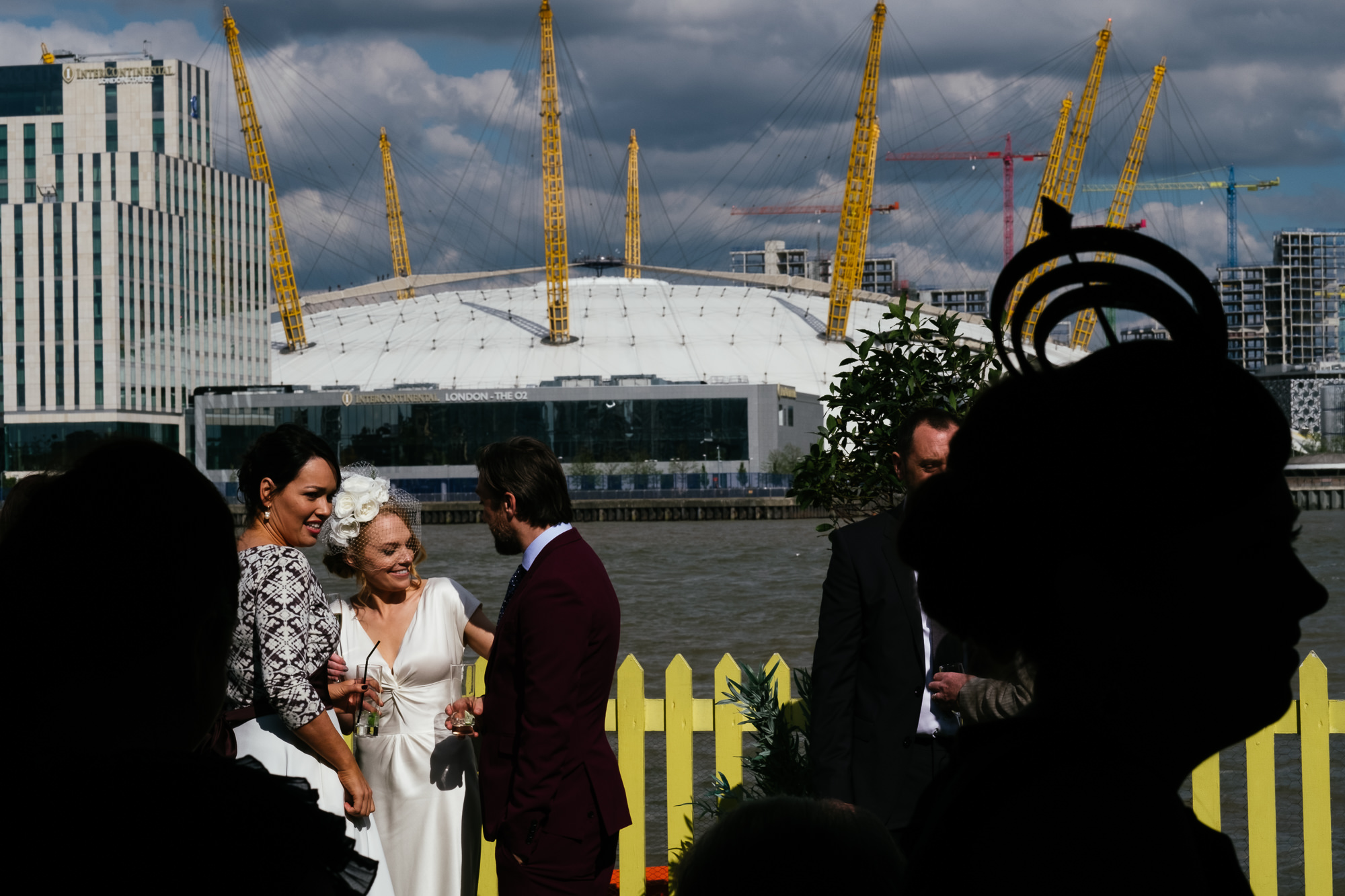 The Gun pub wedding